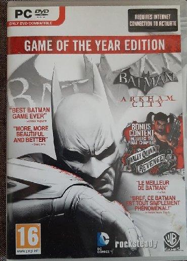 Manchester city - Srbija: GOTY (Game of the year) Batman Arkham City. Kao nova, originalna