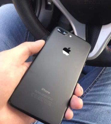 IPhone 7 plus 128 gb чёрный мат в Бишкек