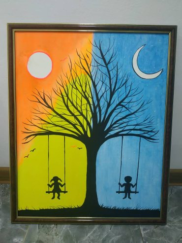 Продаем картины светящиеся ночью по в Лебединовка