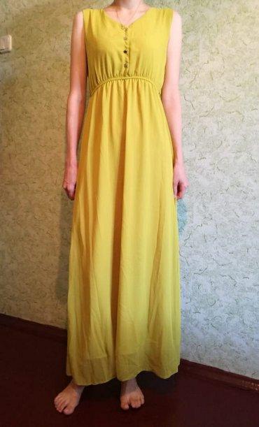 Продаю платье, цвет горчичный, в Бишкек