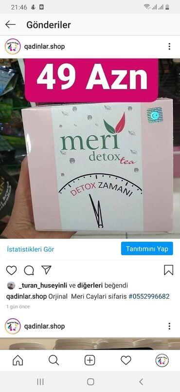 - Azərbaycan: Meri cayi orginal