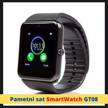 Rad preko interneta - Srbija: ⚠⚠Pametni sat SmartWatch GT08 Samo 1900 din! Može da radi i