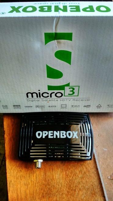 Ресивер спутниковый HD mikro 3 Openbox крутой в Бишкек