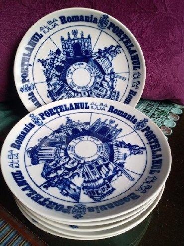 Bmw 6 серия 633csi mt - Kraljevo: Tanjiri porcelan,kobalt novi. 6 komada. precnik. 19,5cm. cena je