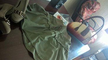 Divna military suknja vel. M u struku podesiva - Loznica