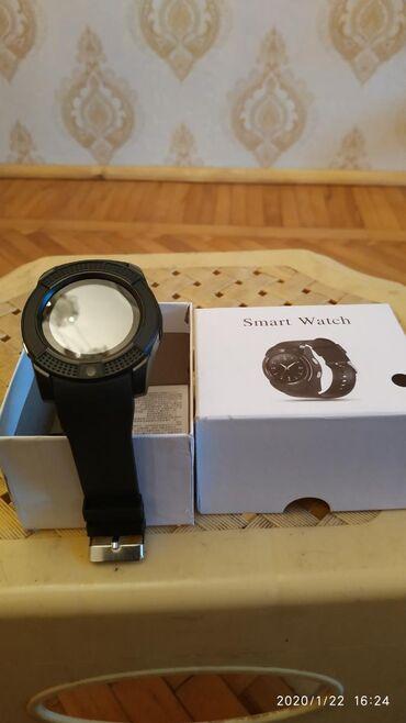 Smart watch V8FunksiyalariSim kartYaddas kartiMp3KameraVe diger