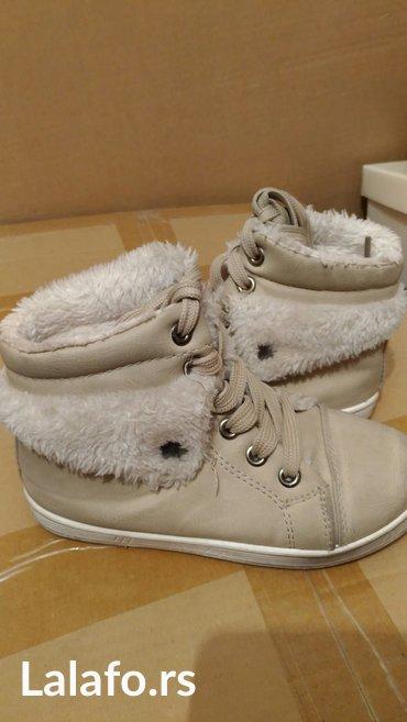 Zimske cizmice postaljene krznom br - Srbija: Zimske cipele sa vestackim krznom, vel. 30, ocuvane