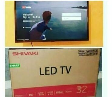 Maqazadan satis.Shivaki smart 82 ekran.3 il resmi qaranti. Son 3gun