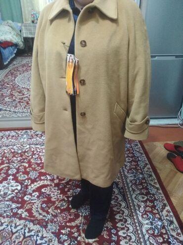 пальто лама в Кыргызстан: Итальянское пальто из Ламы, соаершенно новое, большого размера, для
