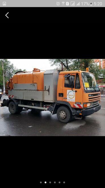 даф в Кыргызстан: Каналопромывочная машина нового поколения марки DAF германского