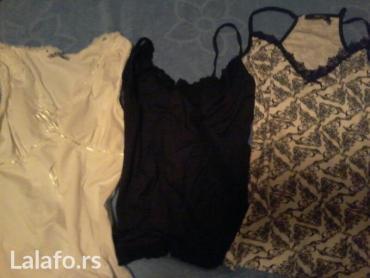 Paket-obodi-majice-i-jedne-kosulje-lepo-odrzane - Srbija: Majice s vel kao nove jako lepo stoje elegantne cena po kom