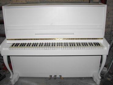 пианино-чайка в Кыргызстан: Срочно!!! Прекрасное пианино с великолепным звучанием и внешним видом
