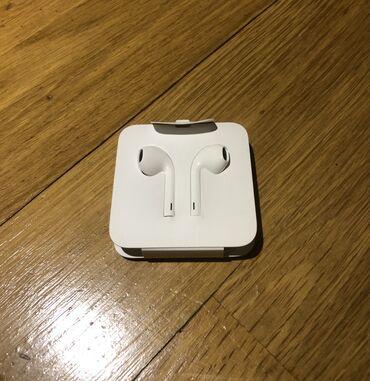провод для наушников в Азербайджан: EarPods Qulaqliq Lightning | Apple Teze, original.  Наушники EarPods L