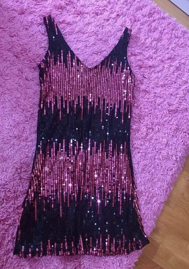 Tunika ili kratka svetlucava haljinica S velicina, moderna,nova, lepo - Knic