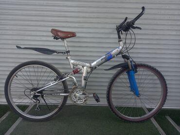 Спорт и хобби - Лебединовка: Скоростной складной велосипед 21скоростей  Колеса 26 Окончательно 4600
