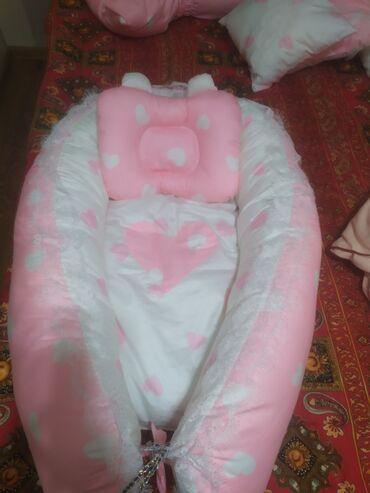 Продаю кокон (гнездо) новая 10 бортиков + 1 ортопедическая подушка. Не