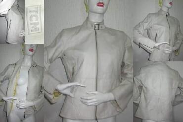 Jakna-markirana-broj - Srbija: Kozna drap jakna TCM broj 42