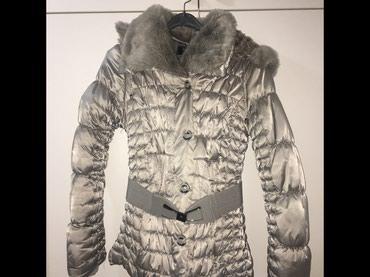 Astrahan bunda - Srbija: Nova zimska jakna, potpuno naložena iznutra, veoma topla, L veličina a