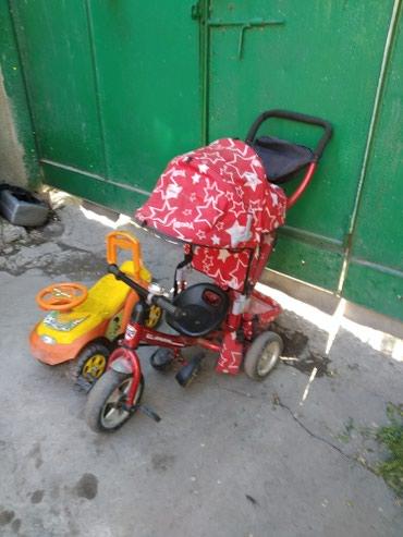 коляска-voondo-2в1 в Кыргызстан: Продаю велосипед коляску и детскую машинку окончательно