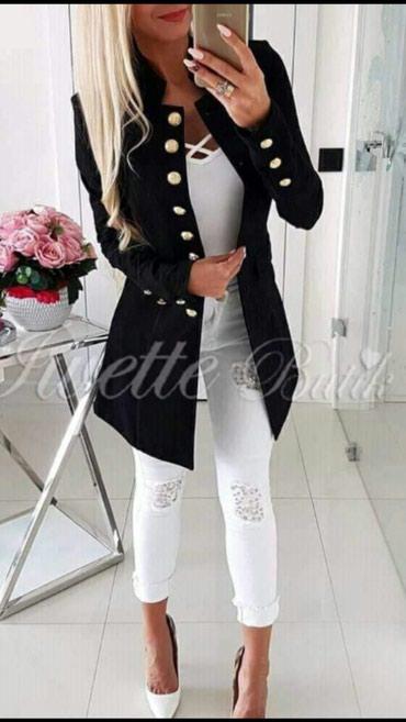 Sakoi-jedan - Srbija: ×AKCIJA NOVO sa etiketom predivni elegantni sakoi u vise boja