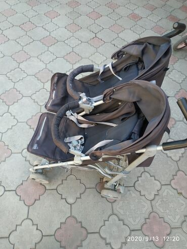москвич 412 цена бу в Ак-Джол: Каляска для двойни цена окончательная