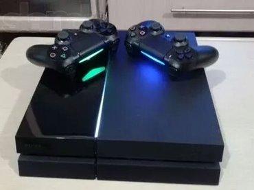 Sony playstation 4 1tb+2 джойстика+18 игр игры: fifa18, pes2018, call  в Бишкек