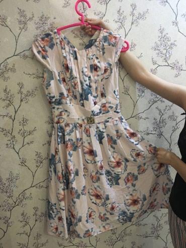 коктейльное платье большого размера в Кыргызстан: Турецкое платье толстый шелк ! Покупала за 5000 в караване Очень