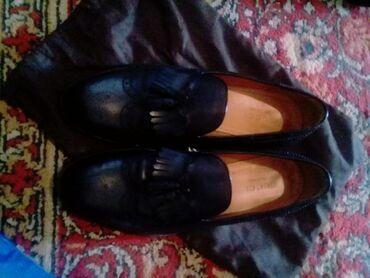 Продаю туфли в хорошем состоянии кожа 100% производство Италия