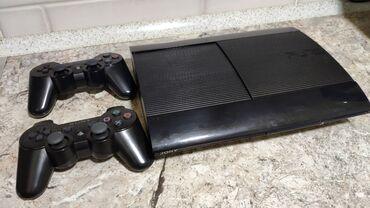 джойстики amfilm в Кыргызстан: Playstation 3 super slim 500 gb. Приставка прошита (hen 4.86)