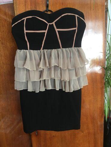 Очень классное платье не спадывает тк плотно сидит вверх размер s-m