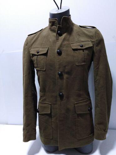 ZARA MAN vrhunska nova(jednom kratko nošena) jakna iz nove zarine GOLD