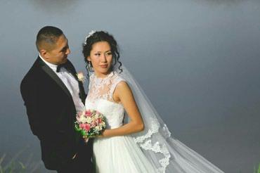 Свадебное платье на прокат. в Бишкек