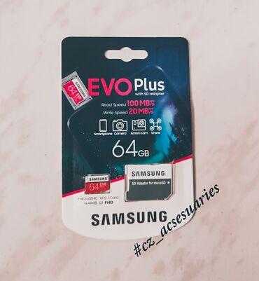 Samsung s4 mini platasi - Azərbaycan: Samsung Evo Plus Yaddaş Kartı 64 GB Klass10 (2020 Model)İstehsalçı