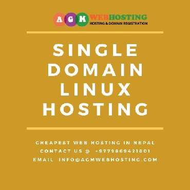 Get the most trusted Single Domain Linux Hosting from cheapest web hos