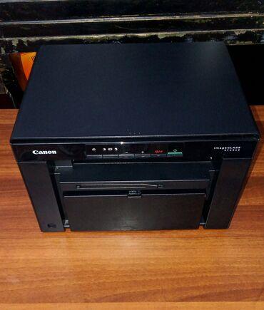 Компьютеры, ноутбуки и планшеты - Бишкек: Canon i-sensys mf3010, лазерный принтер 3в1, печатает, копирует