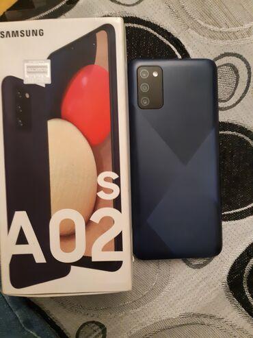 Samsung A02 S | 32 GB | Göy | İşlənmiş | İki sim kartlı