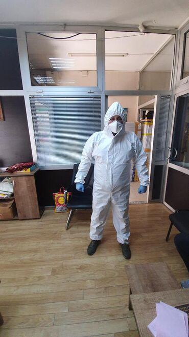 Медицинская одежда - Кыргызстан: Ламинированный комбинезоны Производство Турция в наличии15000шт