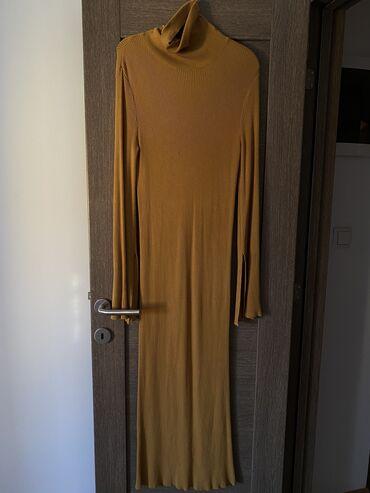 Duga haljina - Srbija: Haljina univerzalna velicinaHaljina ide uz telo i duga je skrozRukavi