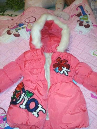 Продаётся  куртка зимняя на девочку от в Бишкек