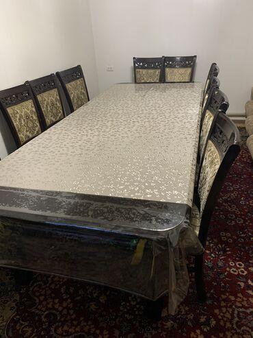 Продаю набор, стол со стульями.(12 шт.)Стол разборный все ножки
