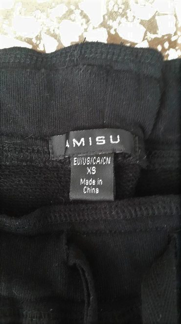 Nov crni Amisu šorts - Kikinda