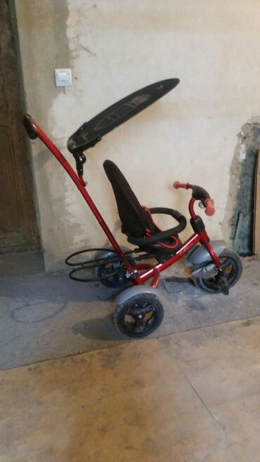 Детский велосипед. Очень прочный и практичный