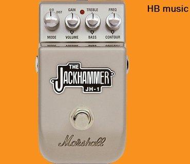 Bakı şəhərində Marshall jh-1 gitara üçün pedal. Bu və digər orjinal modellər