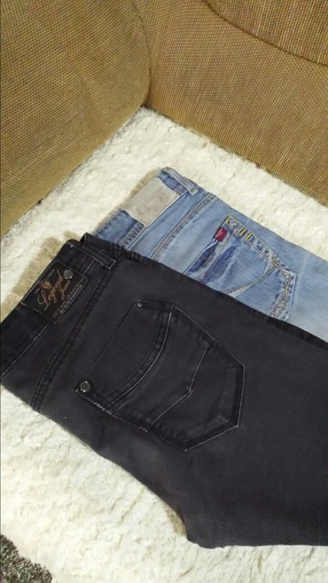 Pantalone, polovne, bez oštećenja, struk 80 cm, dužina 100cm, oba - Velika Plana