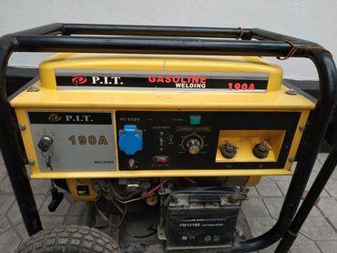 Генератор бензиновый + сварка цена 40000с