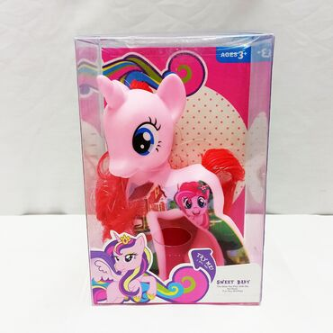 Литтл Пони (Little Pony) - чудесная резиновая игрушка с различными