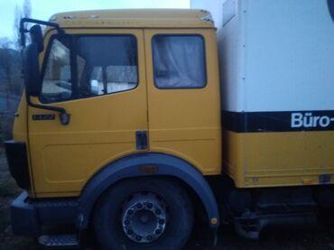 voennyj kung budka в Кыргызстан: Мерс 1422матор 11куб будка утепленный длинна 7.20 задние четыре