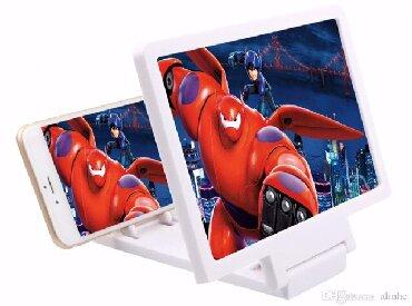 Mobil telefonlar üçün digər aksesuarlar - Azərbaycan: 3D Monitor Ekran Boyuducu  Keyfiyyət%  Ağ ve qara rengleri Mövcuddur