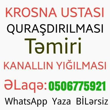 Sumqayıt şəhərində Krosnu tv