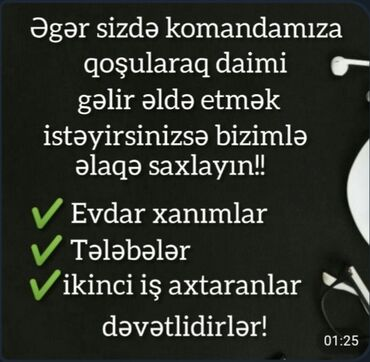 digital piano - Azərbaycan: Salam men evdar qadınam, və ailəsinə qatqıda olmaq isteyen xanımlara